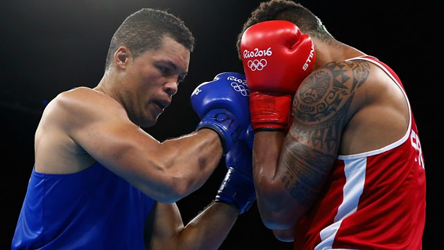 BBC Sport Olympic Boxing Finals Sunday Ft Joe Joyce - Olympic boxing schedule