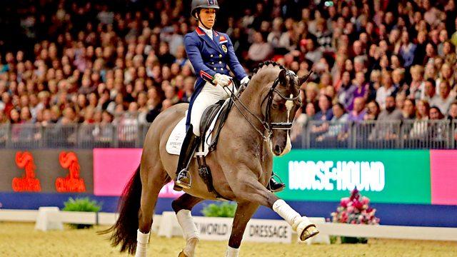 Bbc Sport Equestrian Olympia Horse Show Dressage