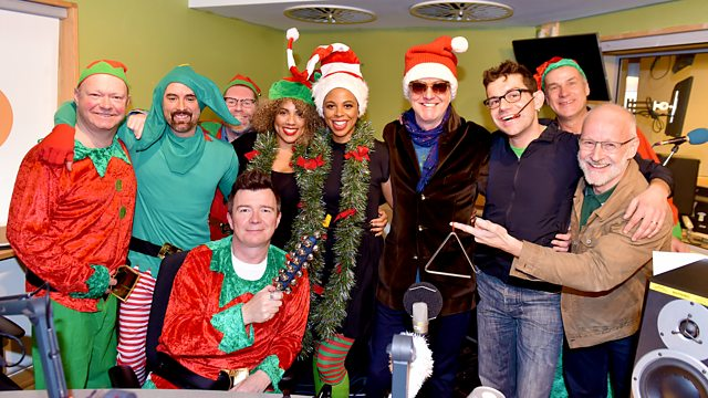 Coming Home For Christmas.Bbc Radio 2 The Chris Evans Breakfast Show Driving Home