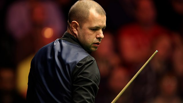 Semi-Final: Joe Perry v Barry Hawkins