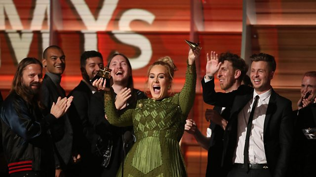 068cdf60ebed LIVE  Adele trumps Beyonce to win five Grammy Awards - Music News LIVE - BBC