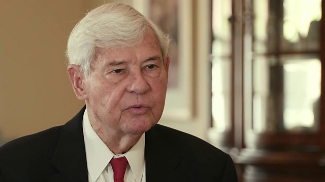 Bob Graham, Former Senator and Governor of Florida