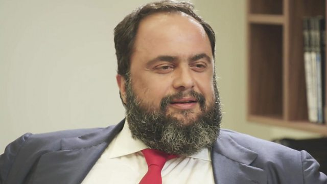The History of Evangelos Marinakis.