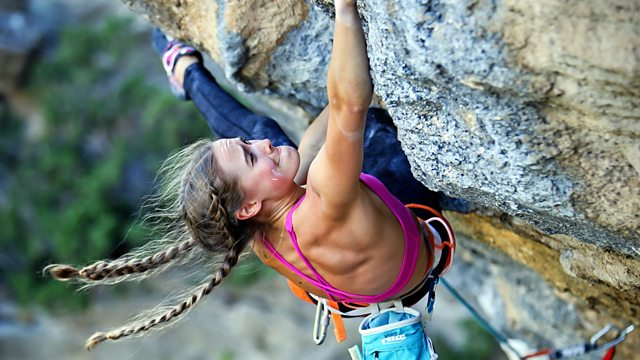 BBC World Service - Sportshour, The real life Spiderwoman
