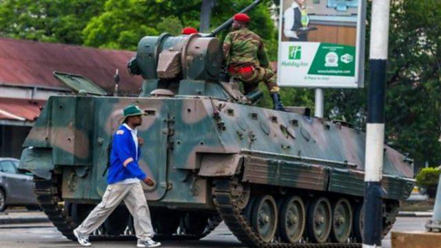 Bbc World Service Newshour Robert Mugabe Under House Arrest