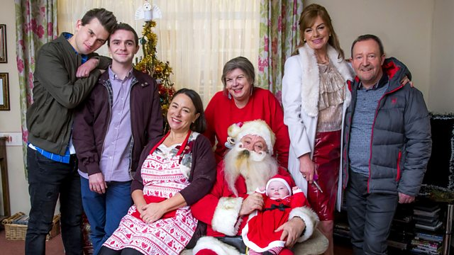 Christmas Special.Bbc Two Two Doors Down Series 4 Christmas Special