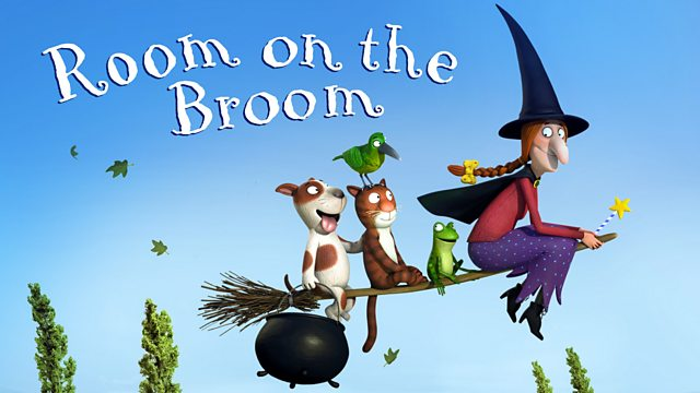 Room On The Broom Green Bird