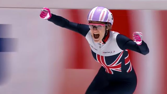 Elise Christie: In from the Cold