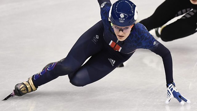 BBC One Day 4: Christie in Women's 500m Speed Skating