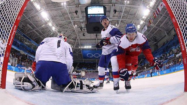 BBC Two Day 6: Ice Hockey and Luge Doubles