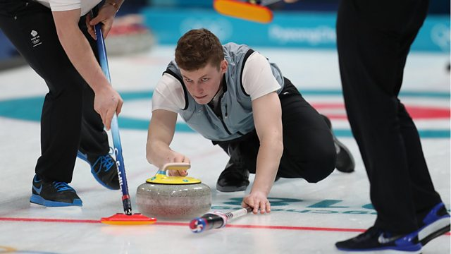 BBC Two Day 8: GB face South Korea in Men's Curling action