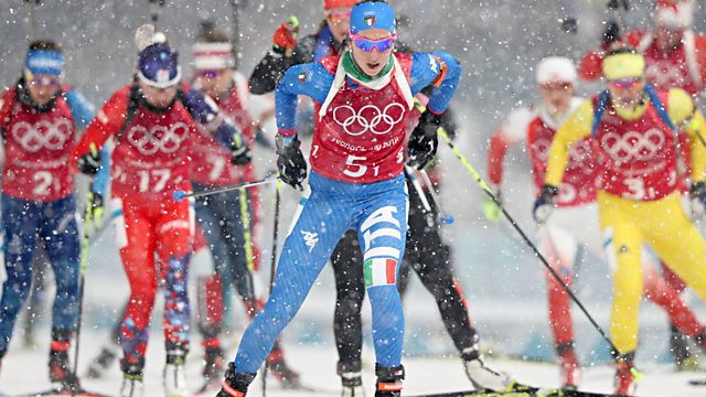 BBC Two Day 13: Curling and Biathlon