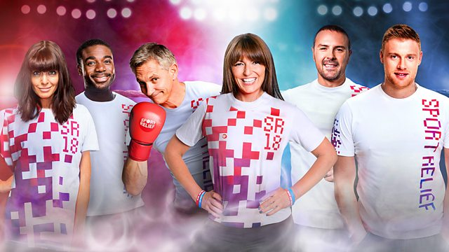 Paddy McGuinness' Sport Relief Warm-Up