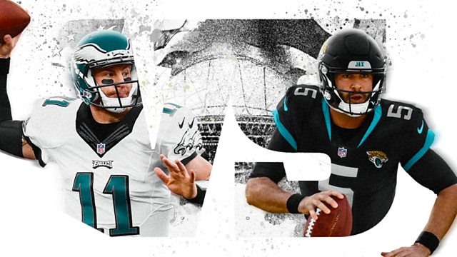 promo code 04699 74951 BBC Sport - American Football, 2018/19, Philadelphia Eagles ...