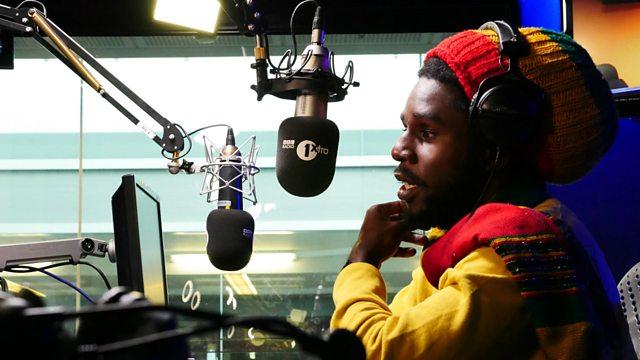 BBC Radio 1Xtra - Seani B, Jamaican superstar Chronixx drops in!