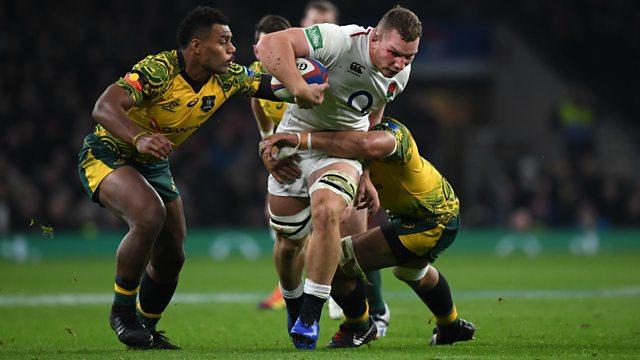 e31a3e373cc BBC One - Rugby Union, 2018/19, England v Australia Highlights