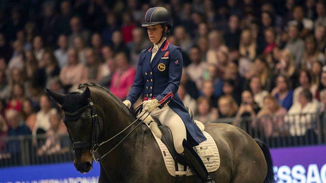 Bbc Sport Equestrian Olympia Horse Show 2018 Dressage