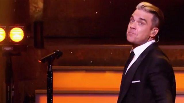 kodikas raikas jalkineet myyntipiste verkossa BBC One - Robbie Williams: One Night at the Palladium