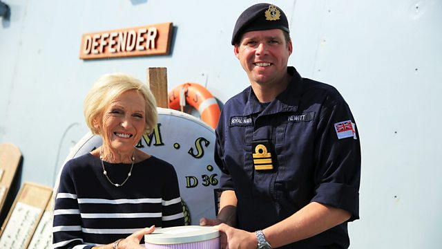 BBC Two - Mary Berry's Quick Cooking, Series 1, The Navy