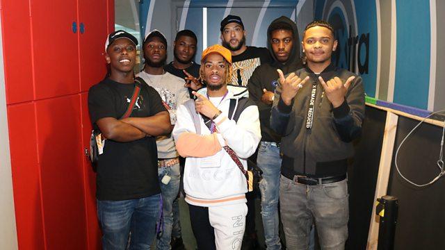 BBC Radio 1Xtra - DJ Target, House of Pharoahs pass through the studio