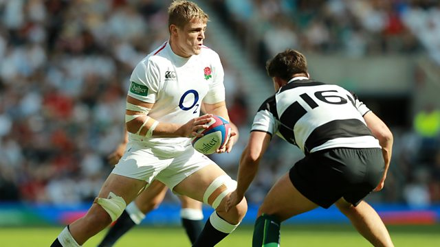 57b15df6f80 BBC One - Rugby Union, 2018/19, England XV v Barbarians Highlights