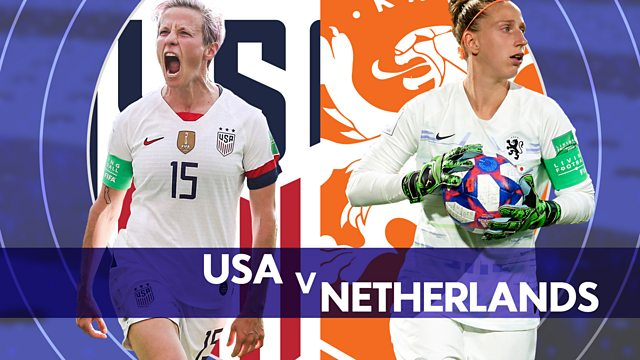 women s world cup final usa v netherlands fifa women s world cup 2019