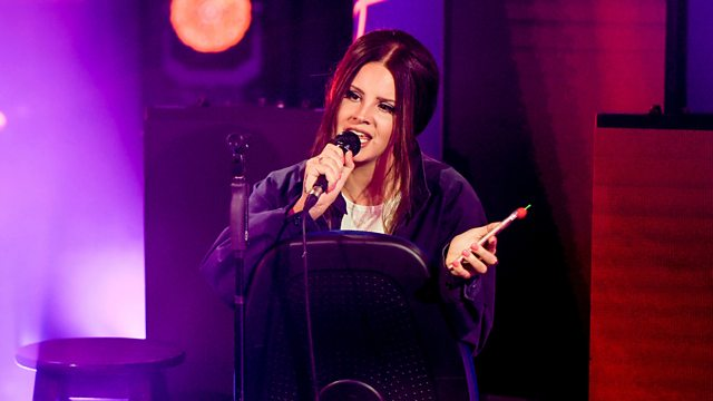 Bbc Radio 1 Clara Amfo Lana Del Rey In The Live Lounge
