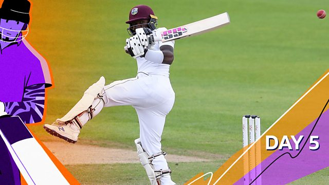 Bbc Sport Cricket Today At The Test England V West Indies 2020 Third Test Day Five Highlights
