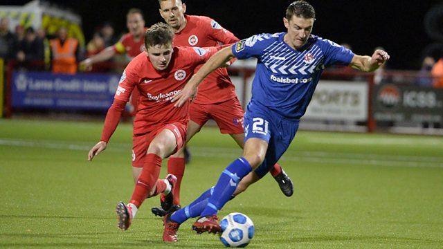 BBC Two - Irish League Football, Larne v Crusaders