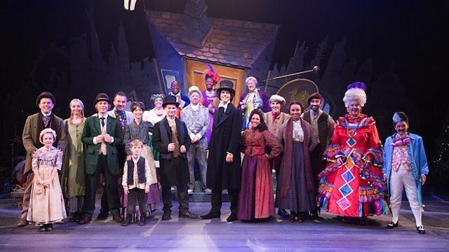 bbc blogs about the bbc not a bah humbug in sight a cbeebies christmas carol - Cast Of Christmas Carol