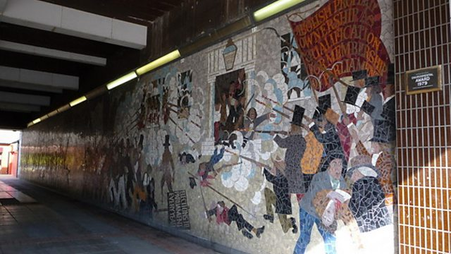 Bbc blogs wales john frost and the chartist march on for Chartist mural newport