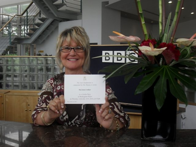 BBC Blogs About the BBC BBC receptionist to attend Royal – Royal Garden Party Invitation