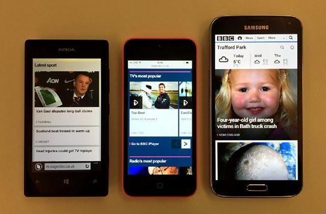 Nuova Home Page BBC