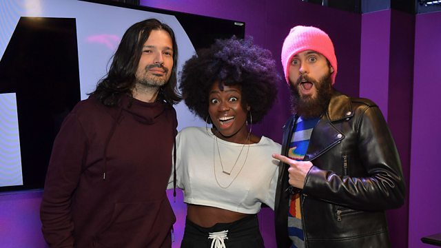 Bbc radio 1 live lounge thirty seconds to mars just performed thirty seconds to mars just performed the most magical mash up of all time in the live lounge publicscrutiny Gallery