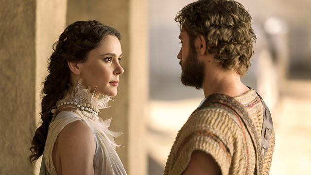 bbc one troy fall of a city who was helen of troy