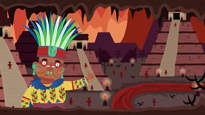What did the ancient Maya believe in?