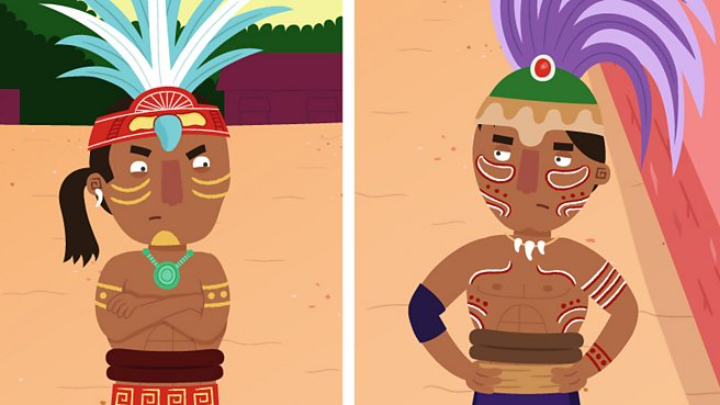 What games did the Mayas play?