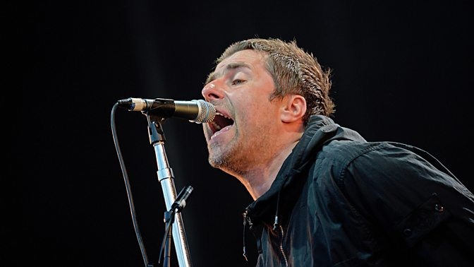 Mon 13 August Liam Gallagher stops gig to berate security Related to this event