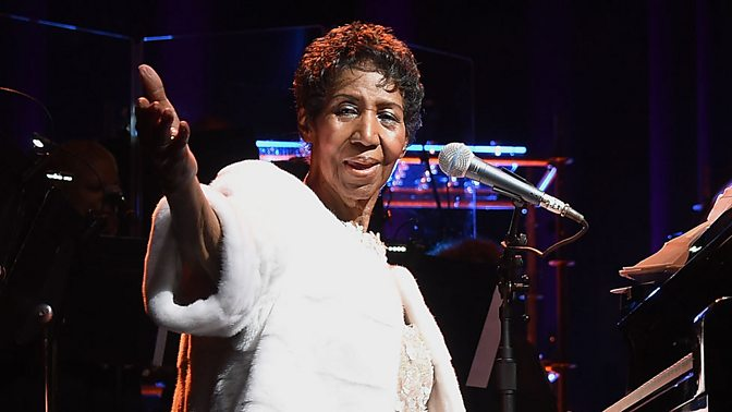 Iconic singer Aretha Franklin had died aged 76