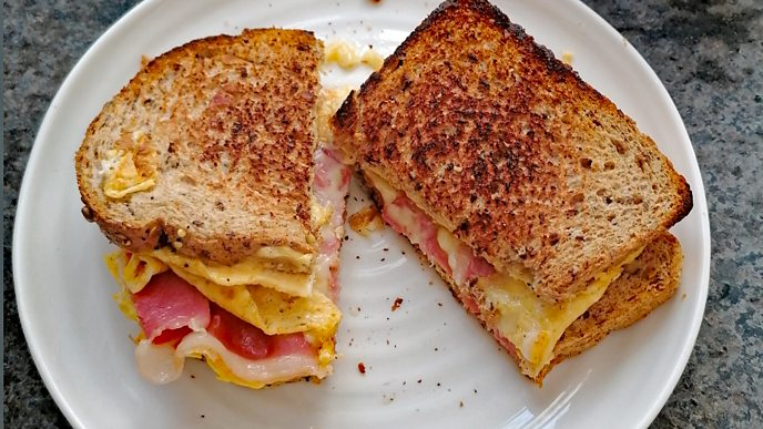 TikTok trend the breakfast sandwich
