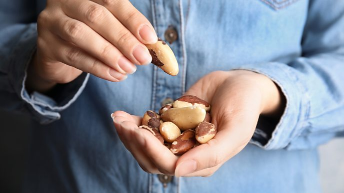 Brazil nuts are a source of selenium