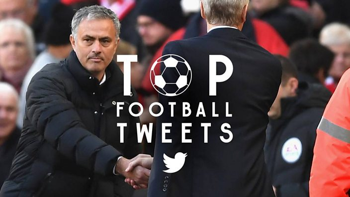 dc49804b0 Give Mourinho and Wenger a hand  11 tweets that sum up the weekend s games. Adam  Hurrey ...