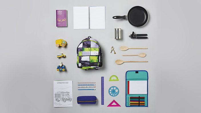 A selection of items on display in the Choose Love shop