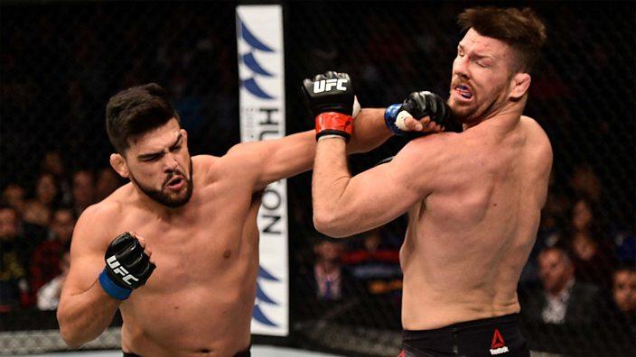 Bisping v Gastelum at UFC 122