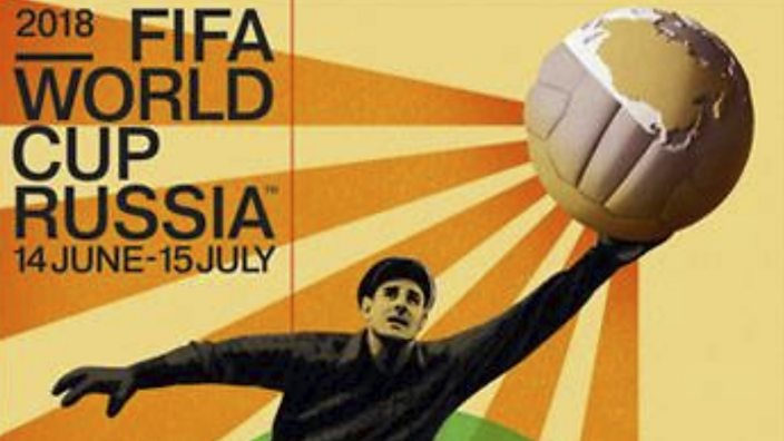 FIFA 2018 World Cup poster