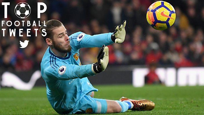 806e91f94 David de Gea saving a potential goal against Arsenal