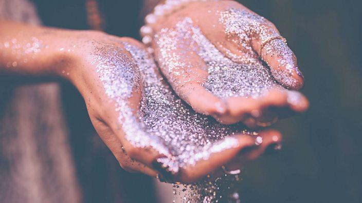 Handful of glitter