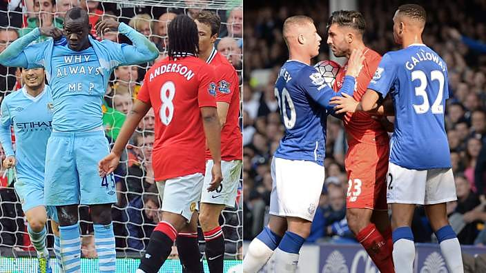 Manchester City vs Manchester United and Everton vs Liverpool