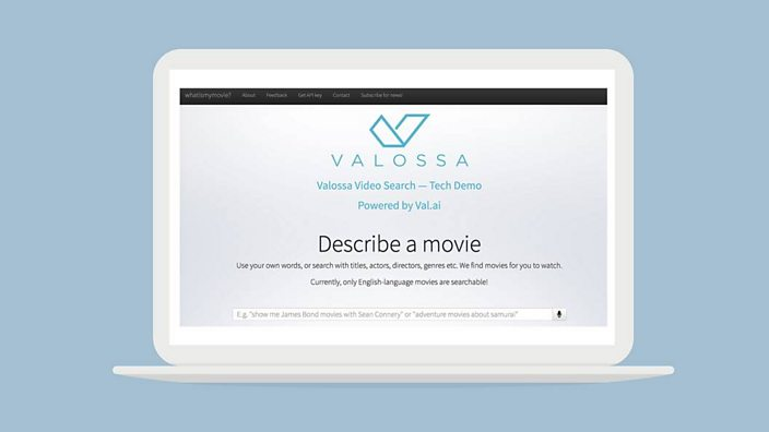 We tested the website that claims it can guess any movie from any screen shot of valossa reheart Image collections