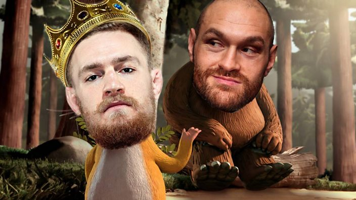McGregor vs Fury